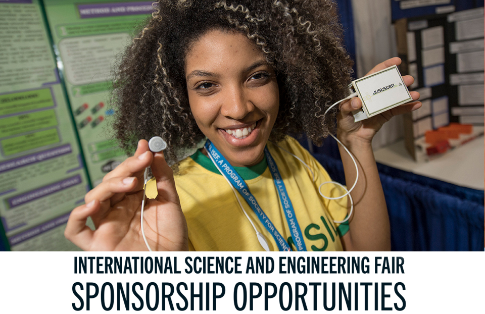 ISEF Sponsorship opportunities
