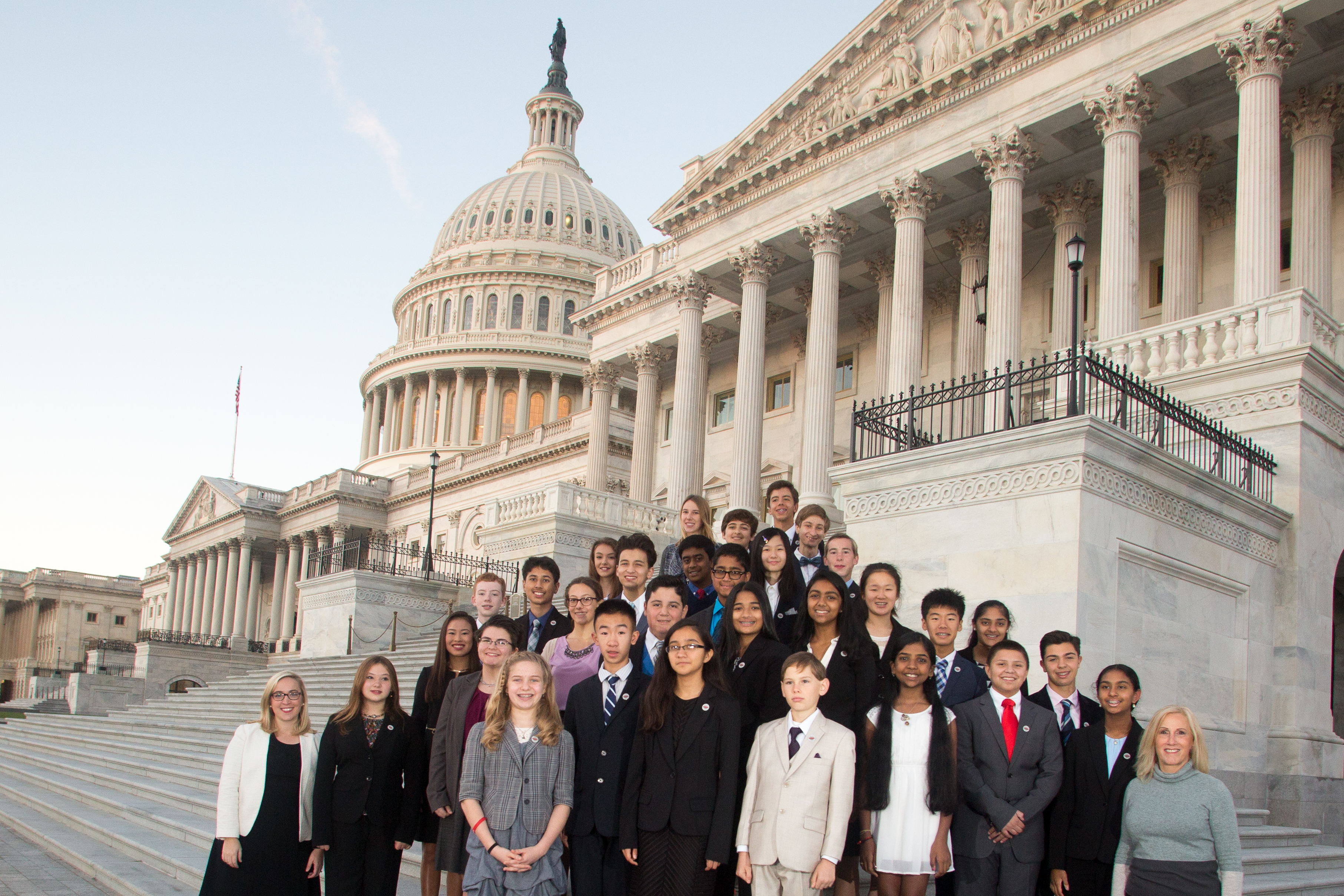 2016 broadcom masters finalists at the capitol