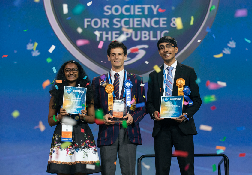 Intel ISEF 2018 Top Winners