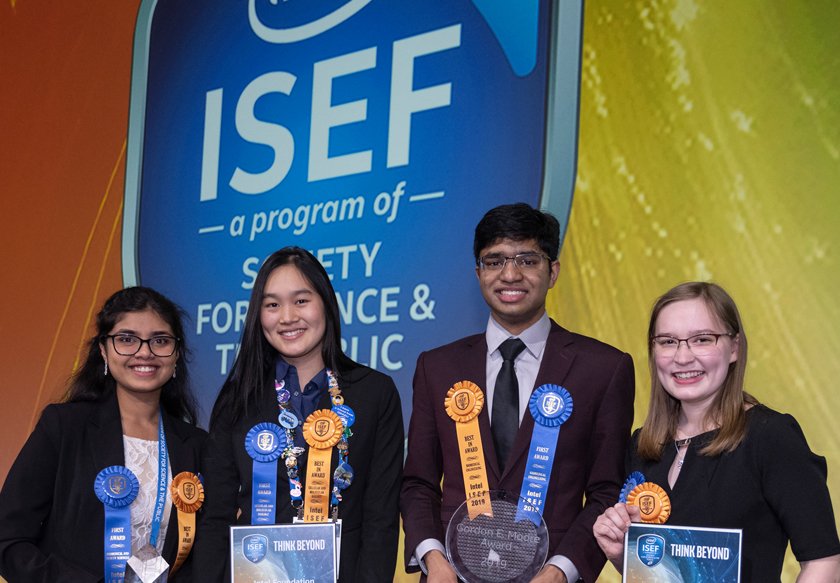 2019 Intel ISEF Top Award Winners