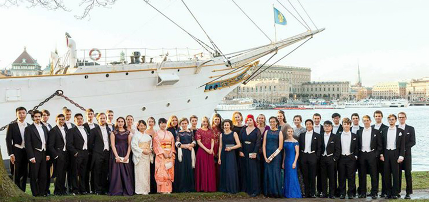 The Intel ISEF 2017 finalists and other young scientists traveled on a boat during the Nobel festivities in Stockholm.