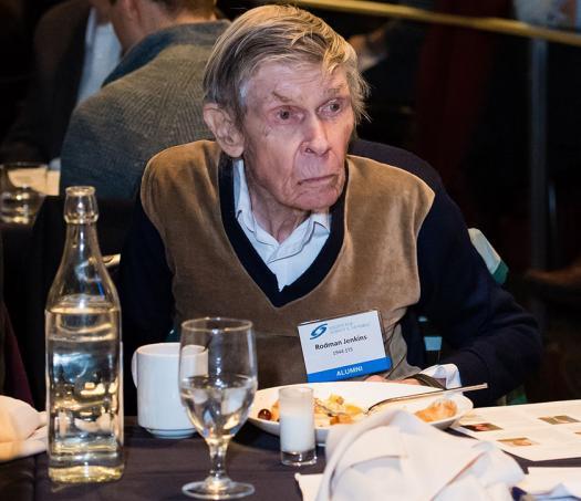 Rodman Jenkins, a Westinghouse STS 1944 alum, attended the brunch.