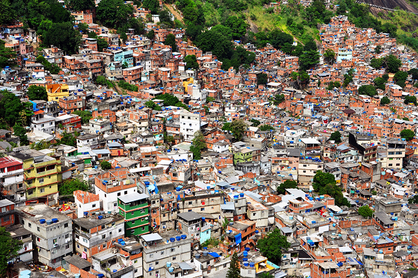 Irregular housing communities in Brazil often resort to using garbage for construction. One high school student wants to change that.