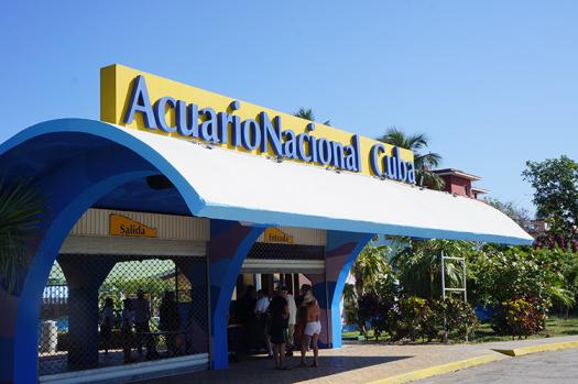 Acuario Nacional in Cuba.