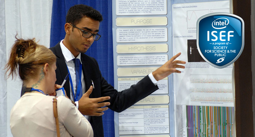science fair research paper isef