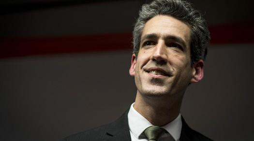 Daniel Biss, a Society alum, ran for governor of Illinois in 2018.