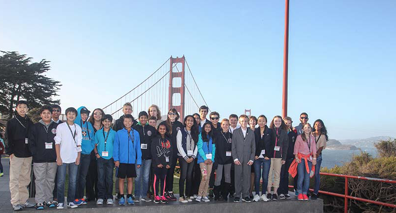 2015 Finalists at Golden Gate Bridge
