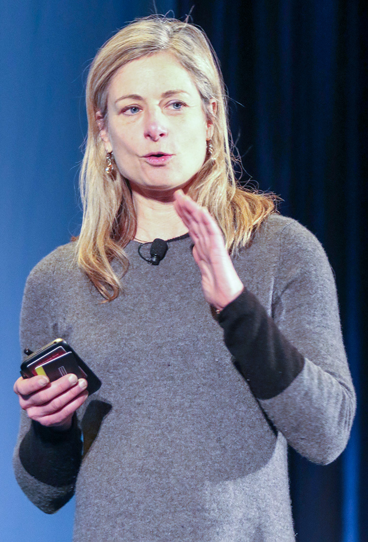 "Lisa Randall discussed her recent physics book, ""Dark Matter and the Dinosaurs."""