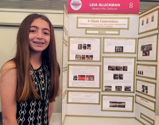 Leia Gluckman designed a multi-use cleansing product that can help the homeless.