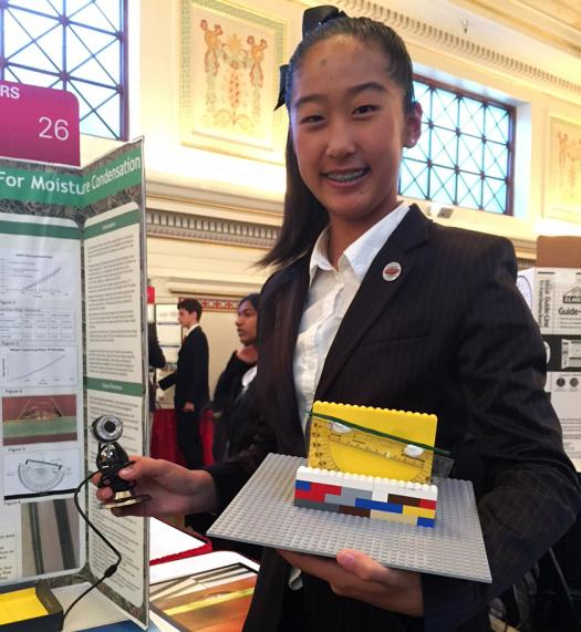 Emily Shi wants to use biomimicry to replicate pine needles and create more water resources.