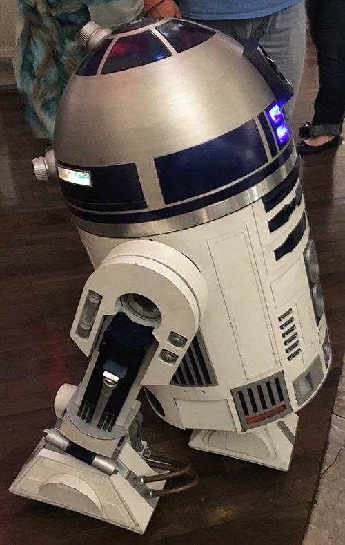 DragonCon attendees don't only dress up as their favorite characters — some build them, including a homemade replica of R2D2.