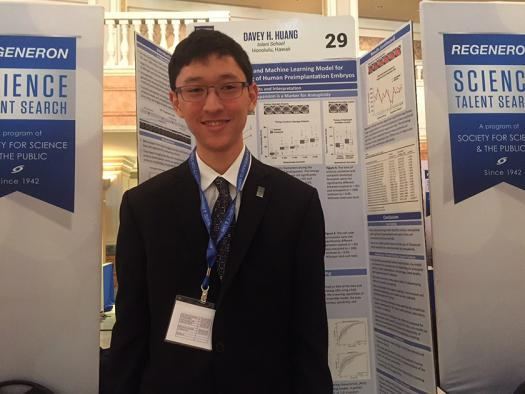 Davey Huang's algorithms may help doctors catch genetic abnormalities in embryos before IVF.