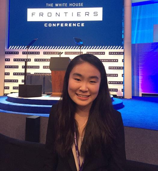 Amber Yang at the White House Frontiers Conference, Oct 2016