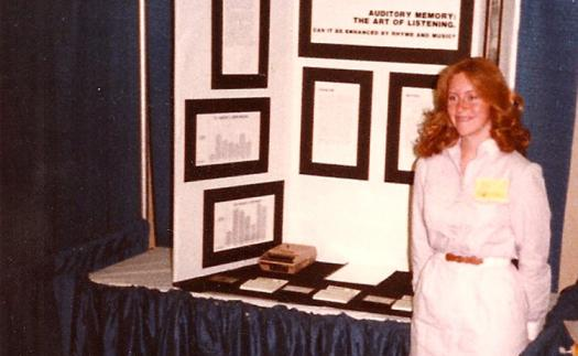 Gwynn was a 1983 Intel ISEF finalist and now judges at science fairs.