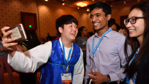 ISEF 2018 At the Pin Exchange