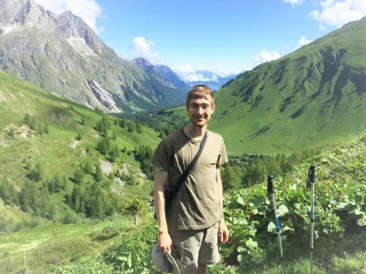 Ike Swetlitz enjoys hiking in his free time.