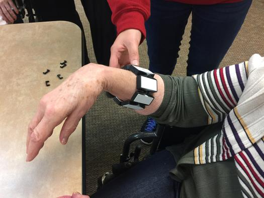 Surabhi's wearable system can help assist hand movements and improve grip.