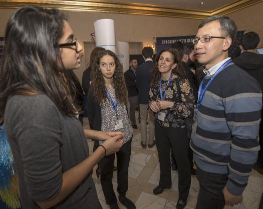 The finalists got a chance to speak with Regeneron scientists about the breakthroughs they're making in medicine.