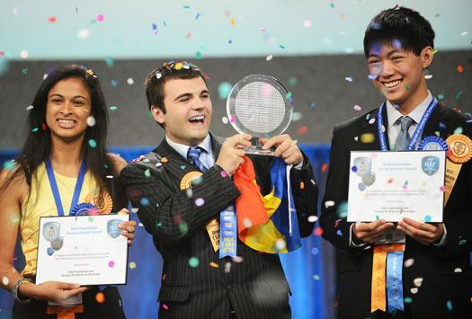 Alexandru was an Intel ISEF finalist from 2010-2013 and a Grand Award winner in 2013.
