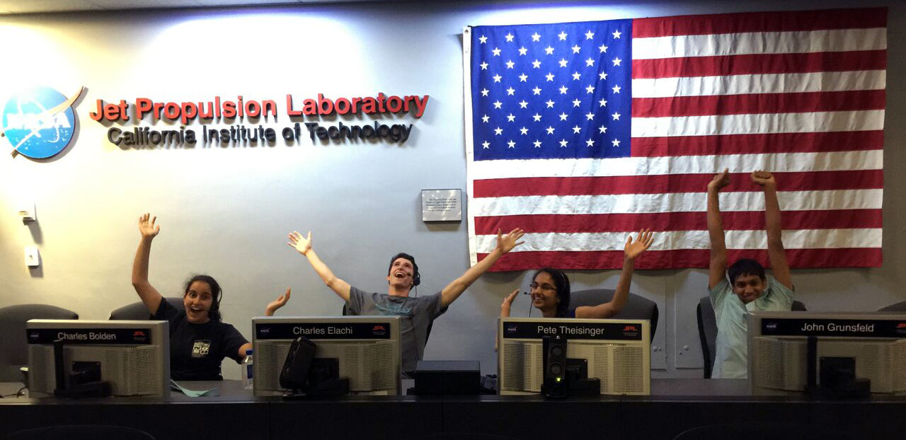 Another mission control success story at the CalTech Jet Propulsion Laboratory.