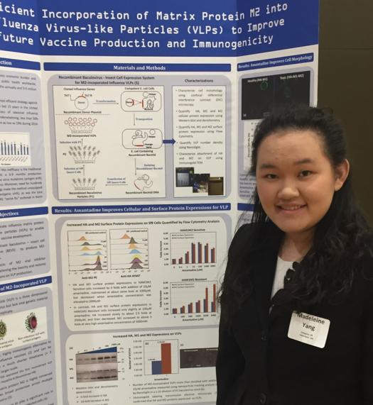 Madeleine said science competitions have been one of the best experiences of her life.