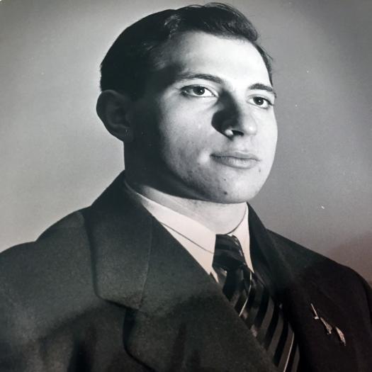 Dr. Robert E. Palombi, STS finalist (1943)
