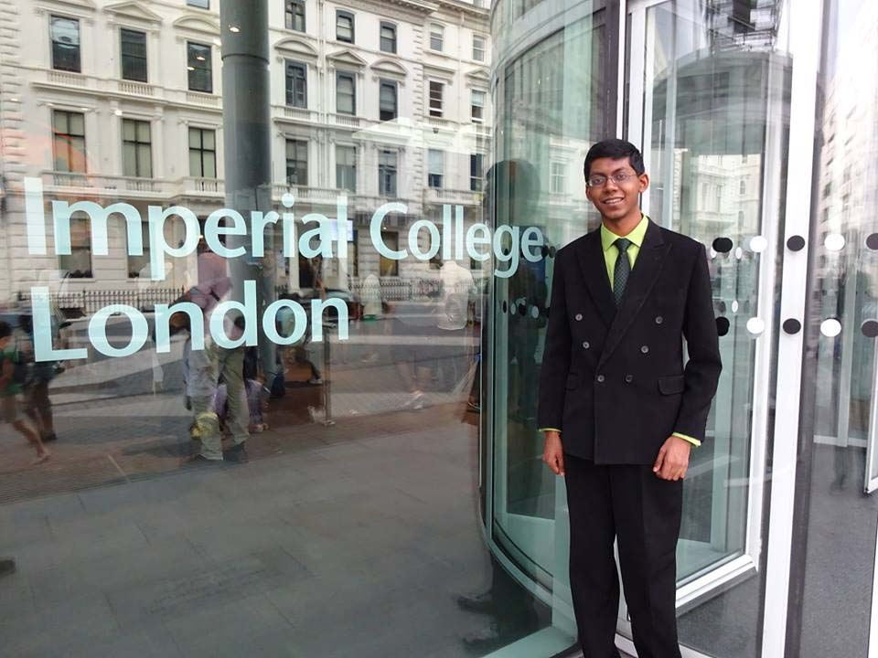 Perry Alagappan at Imperial College of London