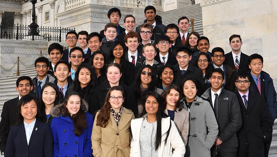 The 2017 Regeneron Science Talent Search finalists in Washington, D.C.