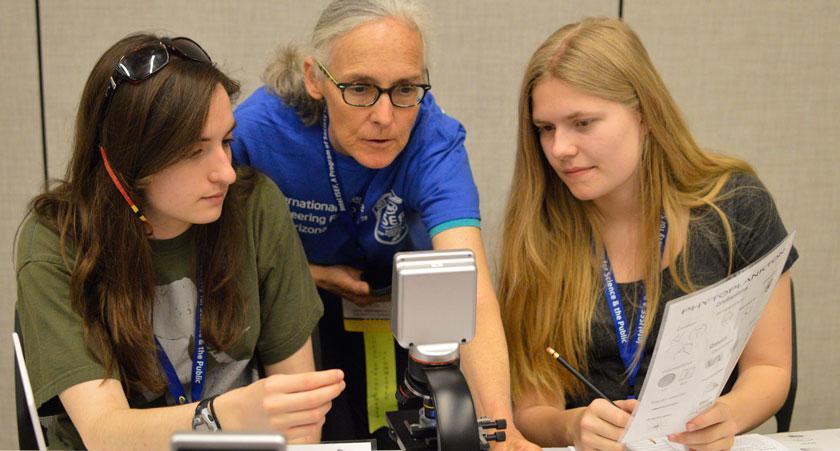 Student Observers at Intel ISEF 2013