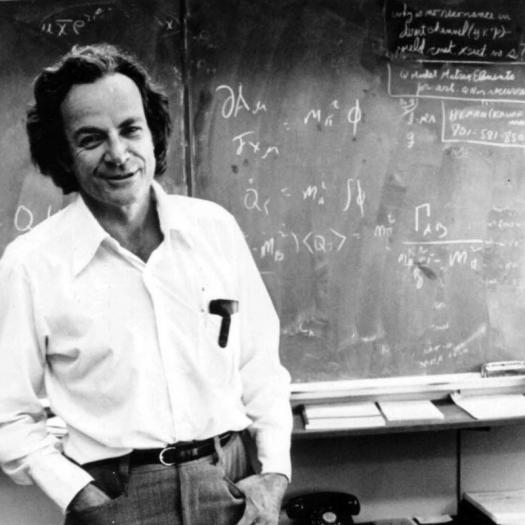 Vincent's scientist idol, Richard Feynman, who worked on the Manhattan Project