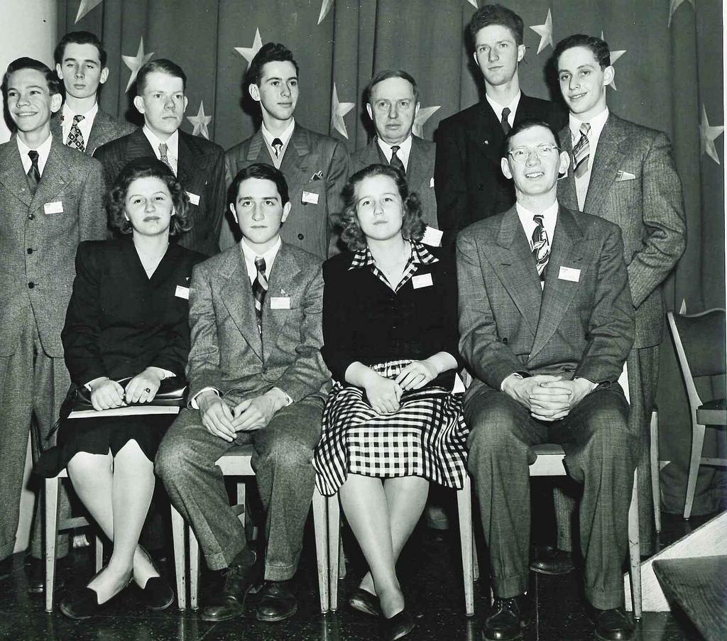 Science Talent Search 1947 Top Ten