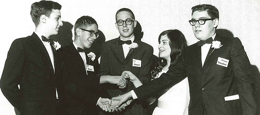 Westinghouse STS 1965 top five finalists at the Awards Gala