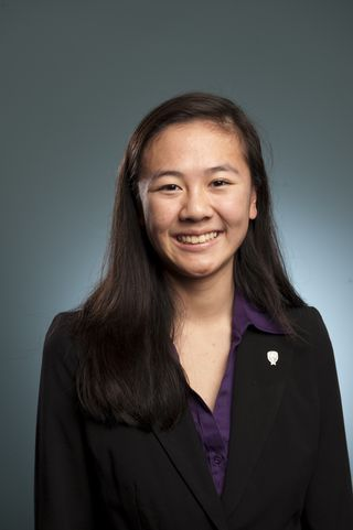 Alice Zhao was the Glenn T. Seaborg Award winner at the Intel Science Talent Search 2010