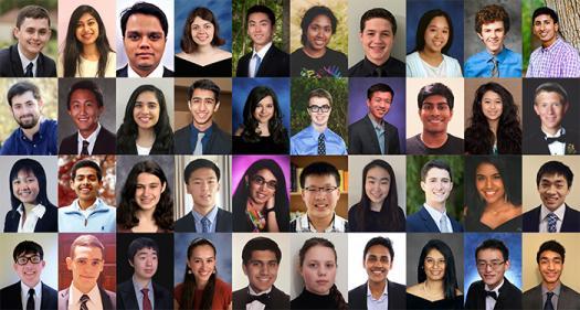 Regeneron Science Talent Search 2017 finalists