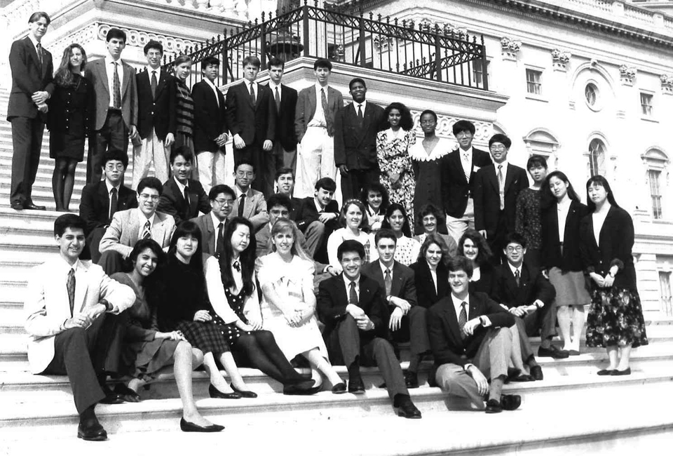 1991 Westinghouse Science Talent Search finalists - US Capitol.