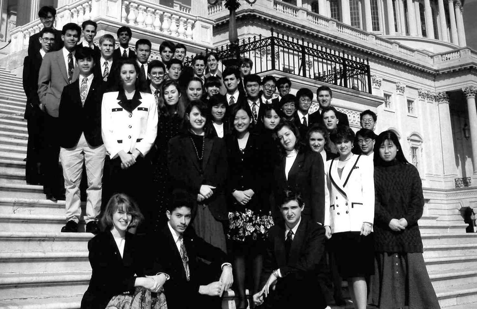 1993 Science Talent Search Finalists - Capitol. Westinghouse STS.