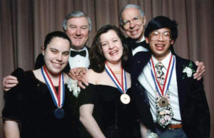 1993 Science Talent Search Finalists - Top 3 finalists Westinghouse STS.