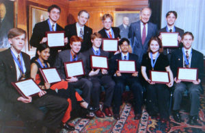 1998 Science Talent Search Finalists - Top Ten. Westinghouse STS.