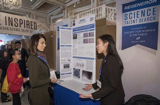 Sarah Gao identified enzymes that appear to kill a gram-negative, antibiotic-resistant bacterium, responsible for hospital-acquired infections.