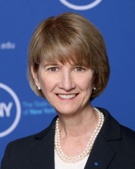 Kristina Johnson Chancellor, The State University of New York.