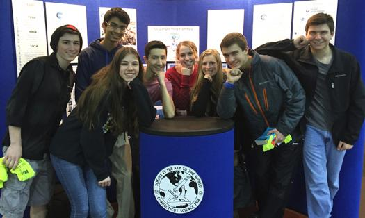Semifinalists at the 2016 Connecticut Science & Engineering Fair.