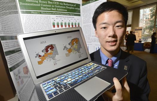 Derek Woo applied to the Science Talent Search almost as an afterthought.