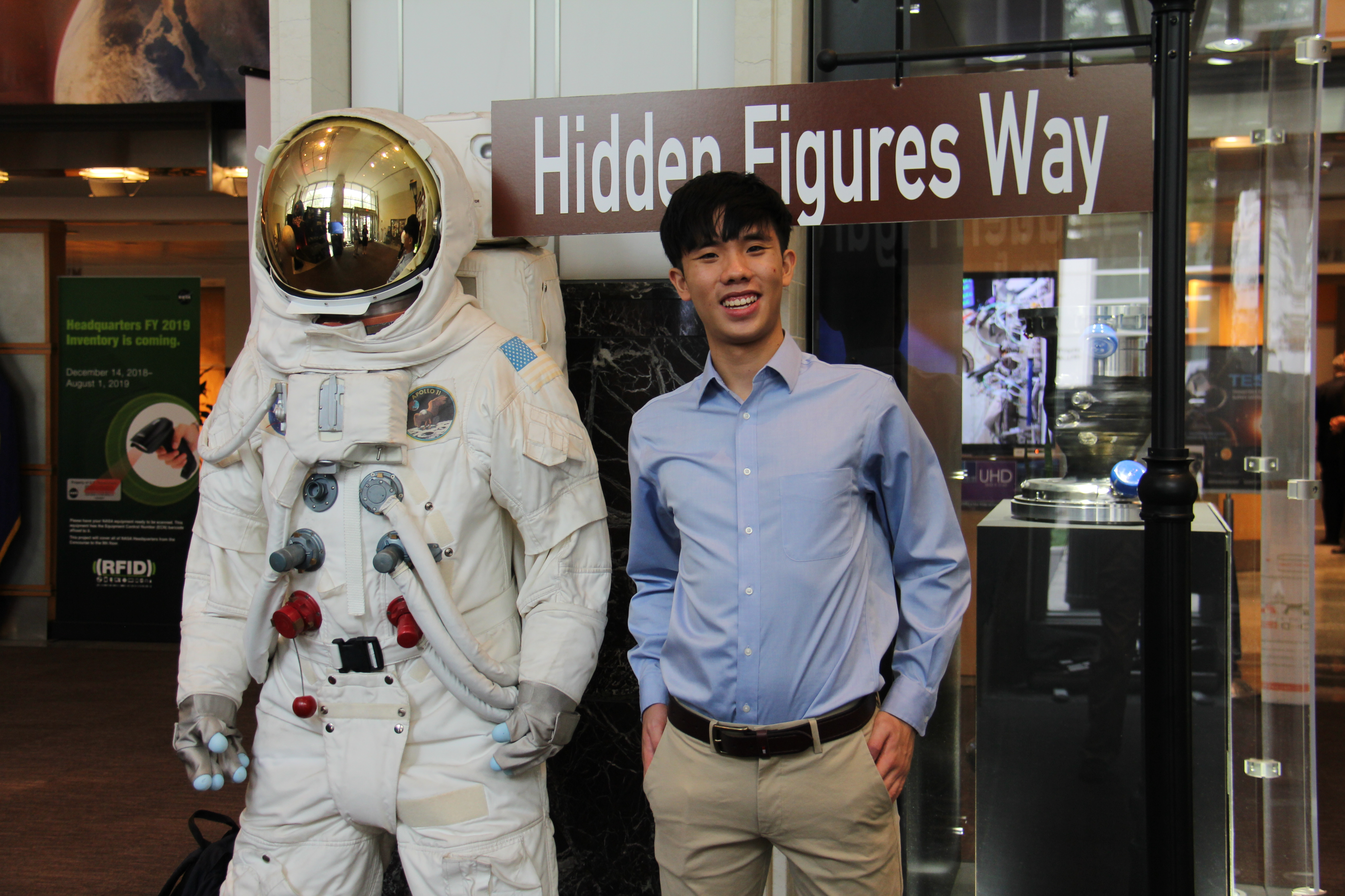 Brian Wu at NASA