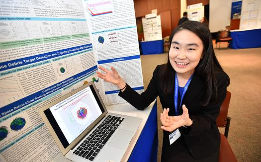 Amber Yang applied to the Science Talent Search for its reputation.