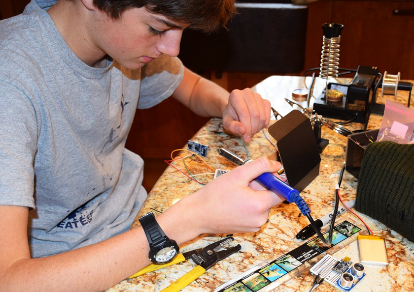 Young and amazing: Alexander Wulff's assistive tech