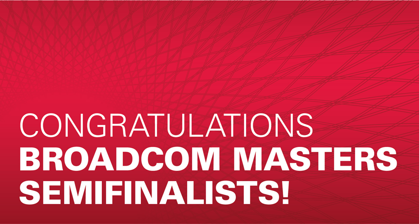 Broadcom MASTERS 2016 Semifinalists by Fair ID | Student Science