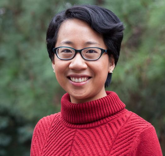 Cindy Wang works as a pharmaceutical consultant. She also plays in a string quartet and designs graphics.