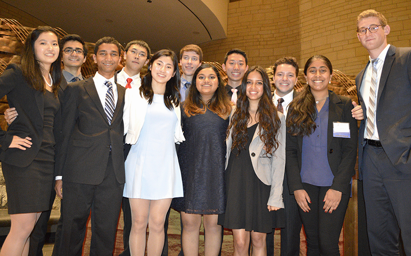 Twelve Society alumni were selected as 2015 Davidson Fellows.