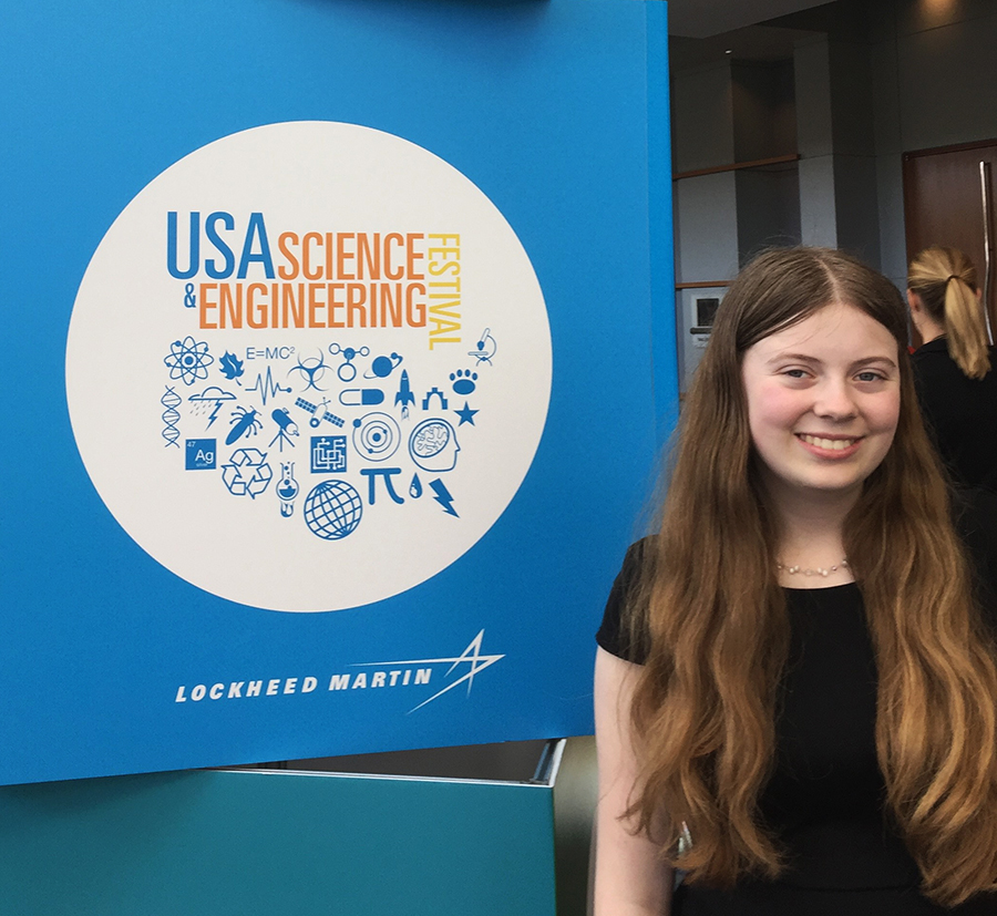 Emily Cross delivered a keynote speech at the X-STEM Science and Engineering Festival.