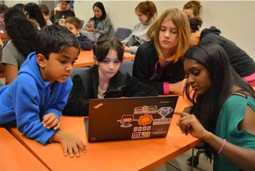 Girls Computing League empowers young women and underrepresented groups in computer science.